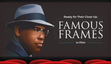 Framing the Famous:  Frames that Made a Fashion Statement in Films - Infographic