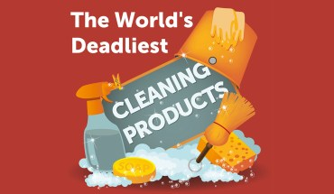 Can Clean, But Can Kill Also: Deadly Cleaning Products - Infographic