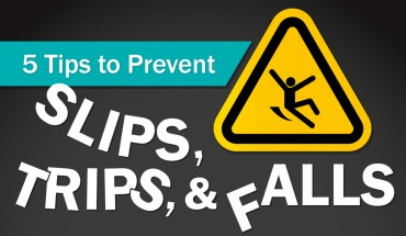 Ensuring Workplace Safety: 5 Tips to Prevent Slips, Trips and Falls - Infographic