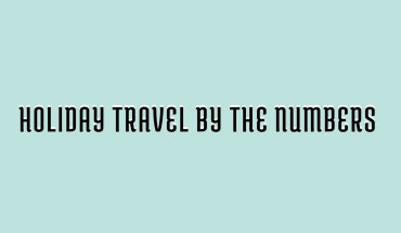 Holiday Season Travel Facts: In Numbers - Infographic