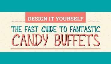 The 6-Step Way to a Perfect Candy Buffet - Infographic