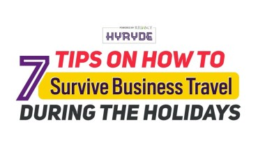 Travel Smart: How to Survive Business Travel in the Holiday Season - Infographic