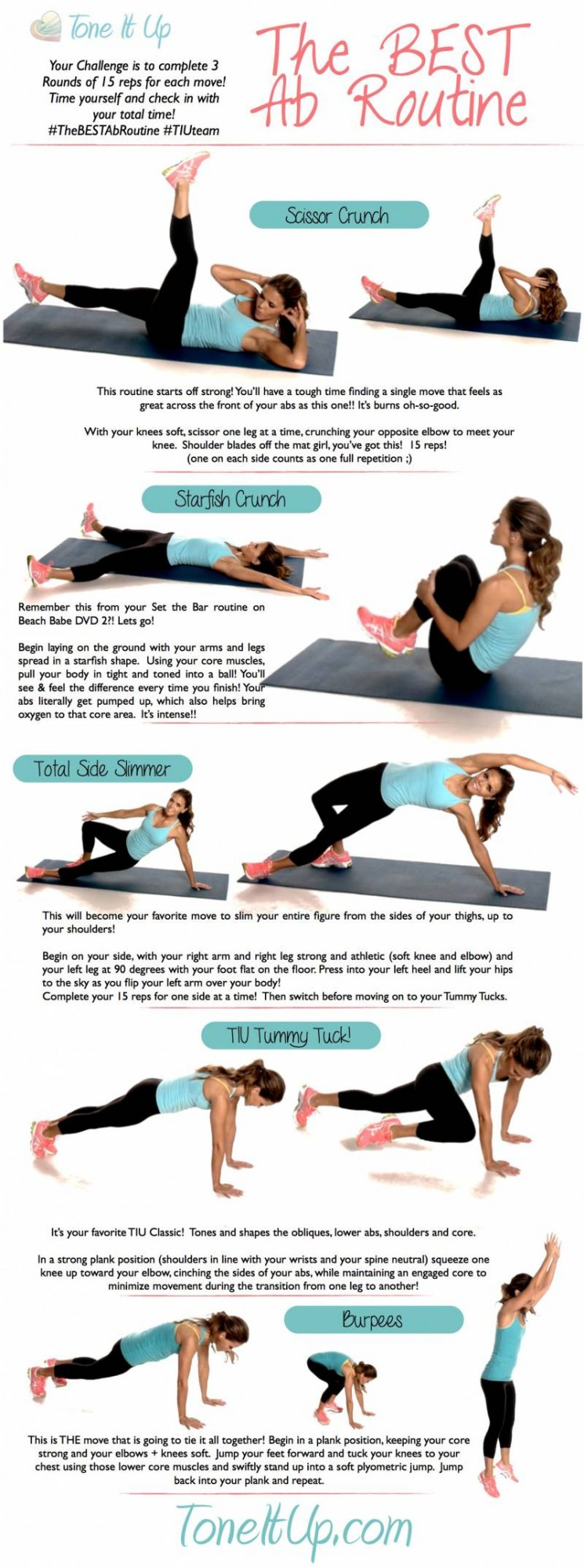 Good…Better…No…The Best Ab Workout Routine! - Infographic