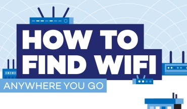 How to Be Safely WiFi Connected, Anywhere You Go - Infographic