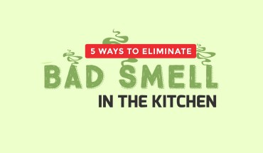 5 Ways to Eliminate Bad Smells in the Kitchen - Infographic