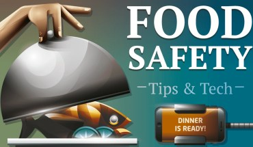 Food Safety Tips And Tech - Infographic