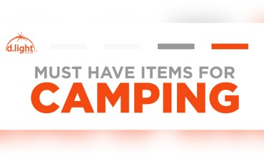Must Have Items for Camping - Infographic