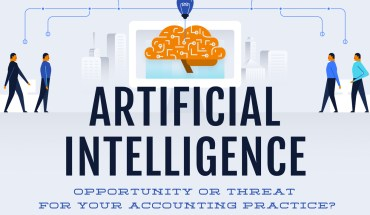 Will AI in Accounting Kill Careers? Analysis of Opportunities and Threats - Infographic