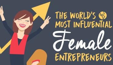 Women on Top: The Stories of 9 Fabulous Female Entrepreneurs - Infographic