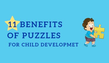 11 Advantages of Puzzles for Your Childs Development - Infographic