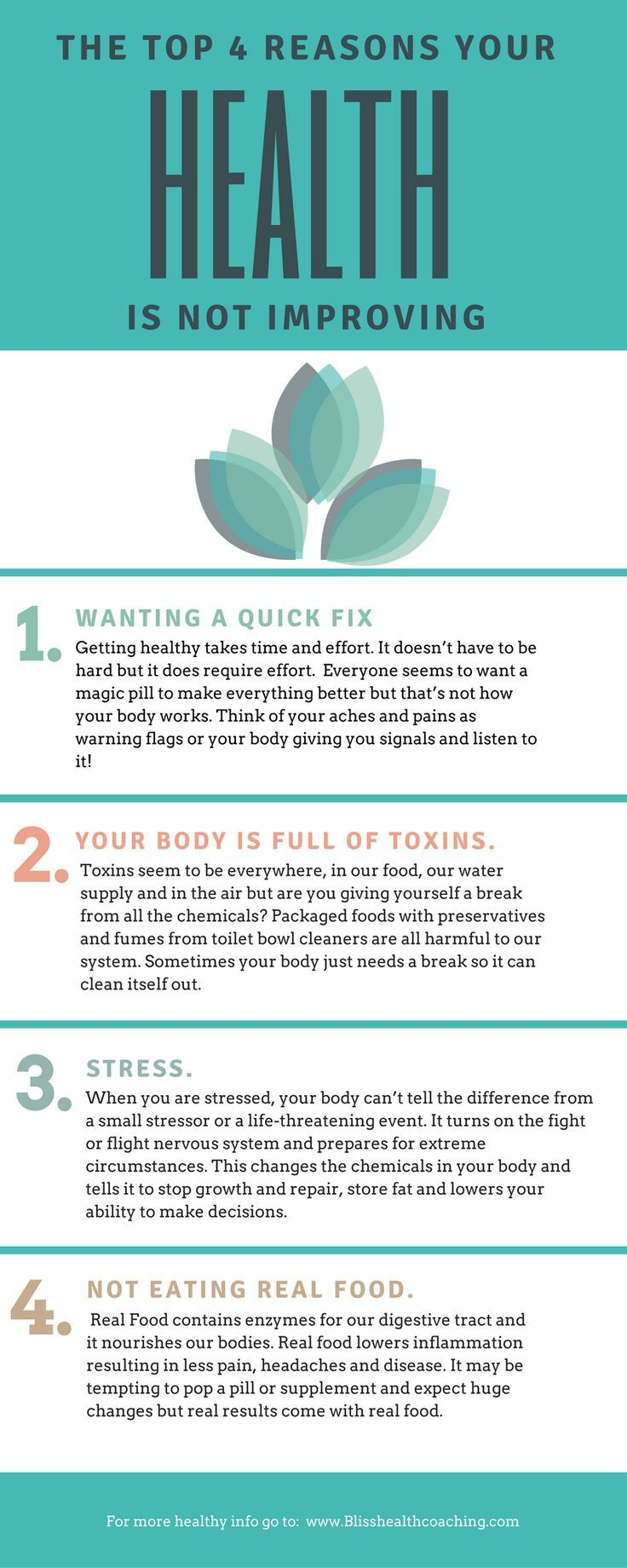4 Behavior Patterns that Will Negatively Impact Your Health - Infographic