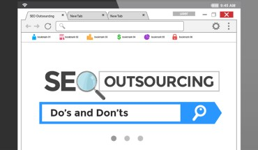 SEO Outsourcing – Do's and Don'ts - Infographic