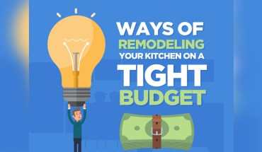 Ways of Remodeling Your Kitchen on a Tight Budget – Infographic