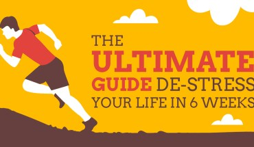 The Ultimate 6-Week Exercise Program to Help You De-Stress - Infographic