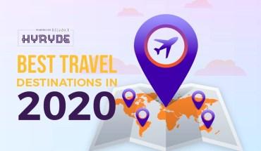 Best Travel Destinations in 2020 - Infographic