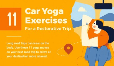 Car Yoga Poses to Try on Your Next Road Trip - Infographic