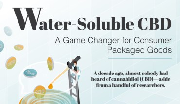 How Water-Soluble CBD can Revolutionize Diverse CPG Industries - Infographic