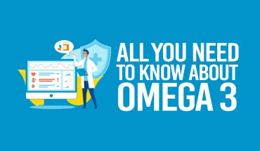 The Incredible Benefits of Omega 3: A Comprehensive Fact-File and Guide - Infographic