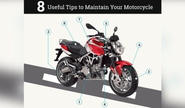8 Tips On How To Keep Your Motorcycle In Mint Condition - Infographic