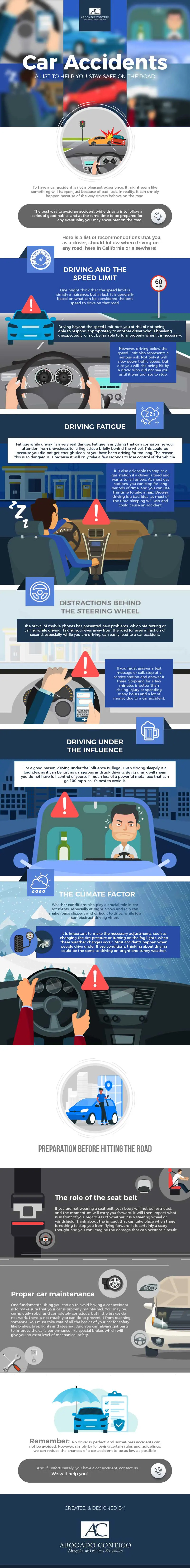 An Overview of Personal Injuries from Car Accidents - Infographic