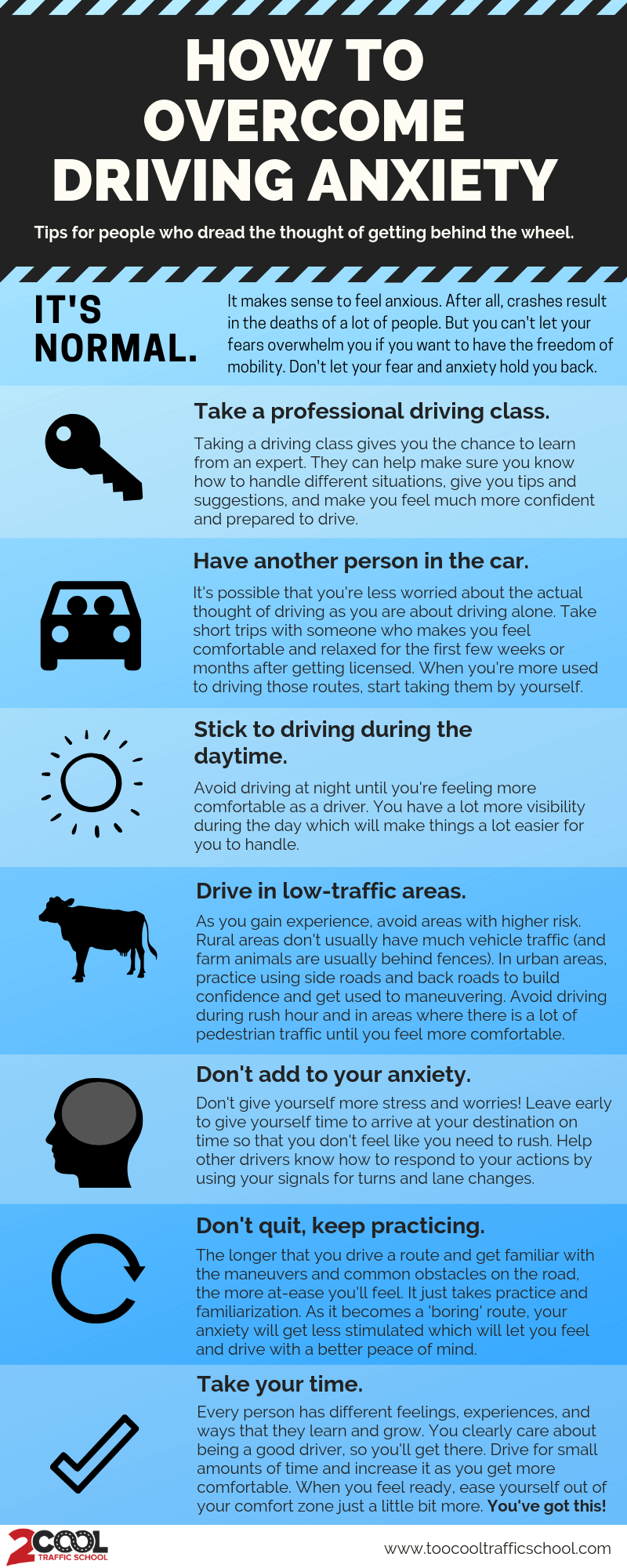 7 Tips To Fight And Overcome Driving Anxiety
