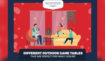 Outdoor Game Tables that are Perfect for Family Leisure - Infographic