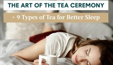 9 Teas for Better Sleep - Infographic