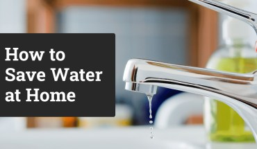 How To Save Water At Home: A Room-by-Room Guide - Infographic