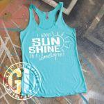 I Want Sunshine Tank