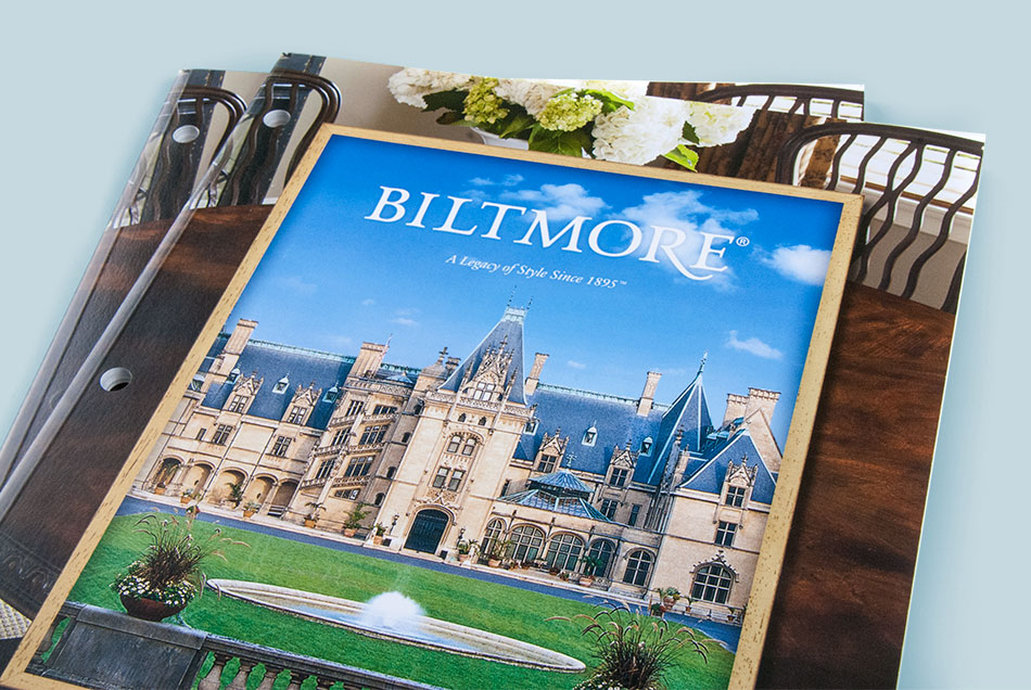 Fine Furniture Design - Biltmore Collection Catalog | Graphic Visual Solutions - Printed Materials