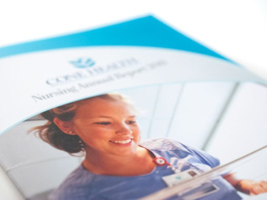 Cone Health - Nursing Annual Report (2011) | Graphic Visual Solutions - Printed Materials