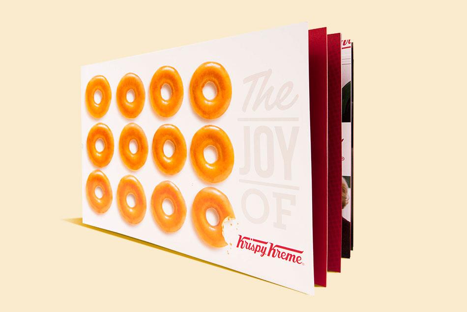 Krispy Kreme - Brand Book | Graphic Visual Solutions - Printed Materials