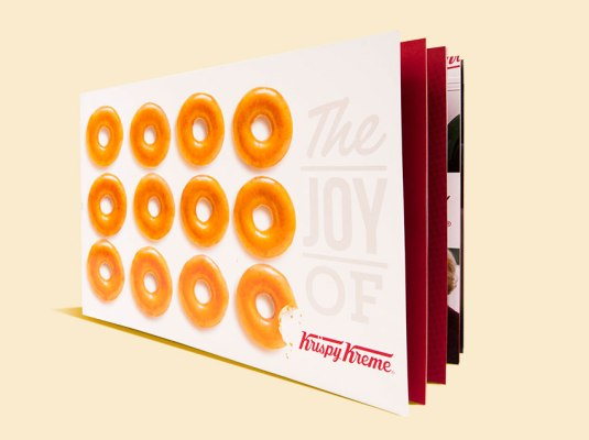 Krispy Kreme - Brand Book | Graphic Visual Solutions - Printed Materials