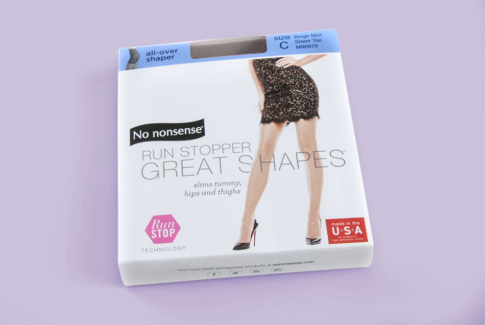 3272d882f No Nonsense - Run Stopper Great Shapes Hosiery Packaging