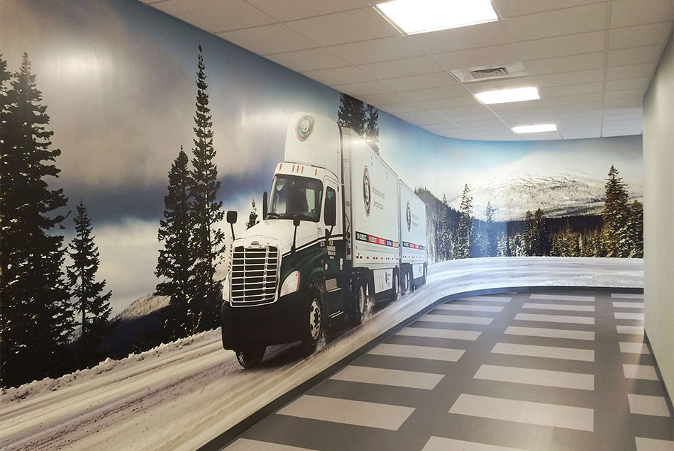 Old Dominion - Corporate Office Wall Graphics | Graphic Visual Solutions - Wide-Format Graphics