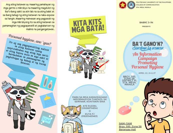 Campaign Flyer Layout & Design Page 1