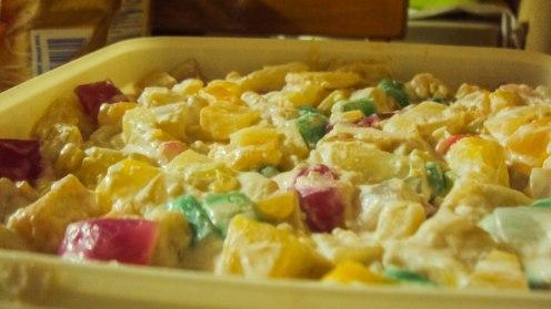 Mom's home-made fruit salad