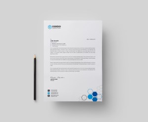 Top Rated Professional Corporate Letterhead Template