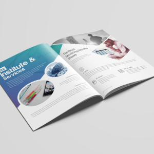16 Pages Uranus Elegant Corporate Brochure Template