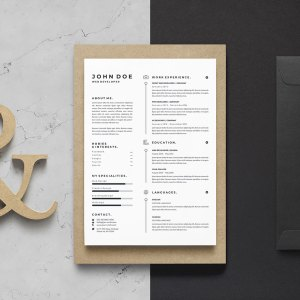 A4 Classic Resume Template