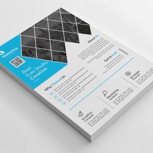Best A4 PSD Flyer Templates