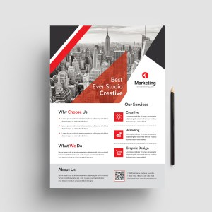 Creative Corporate PSD Flyer Templates