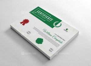Academic Certificate Design