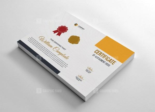 Minimalist Certificate Template