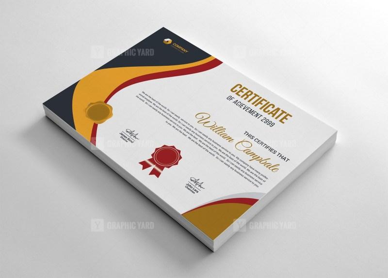 Customizable Certificate Template