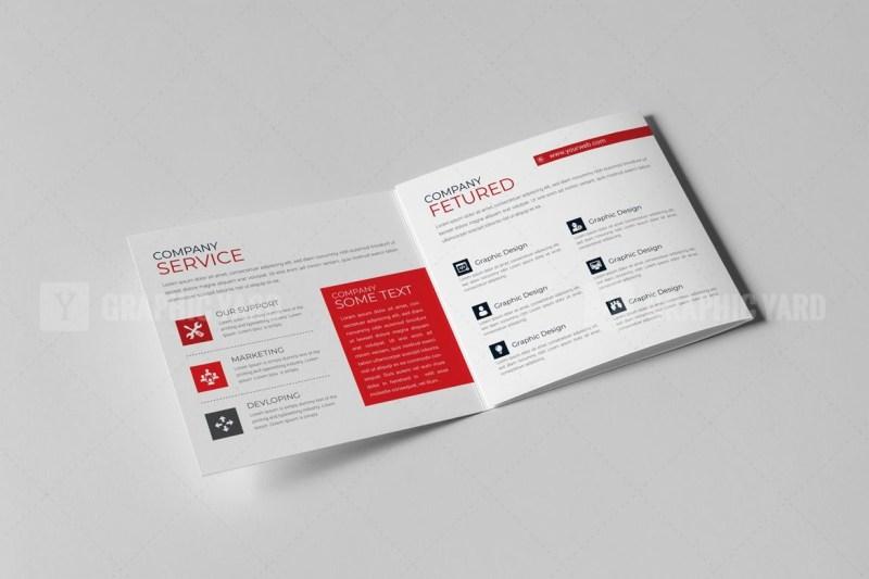Vector Trifold Brochure Templates