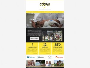 Cosao – Site web