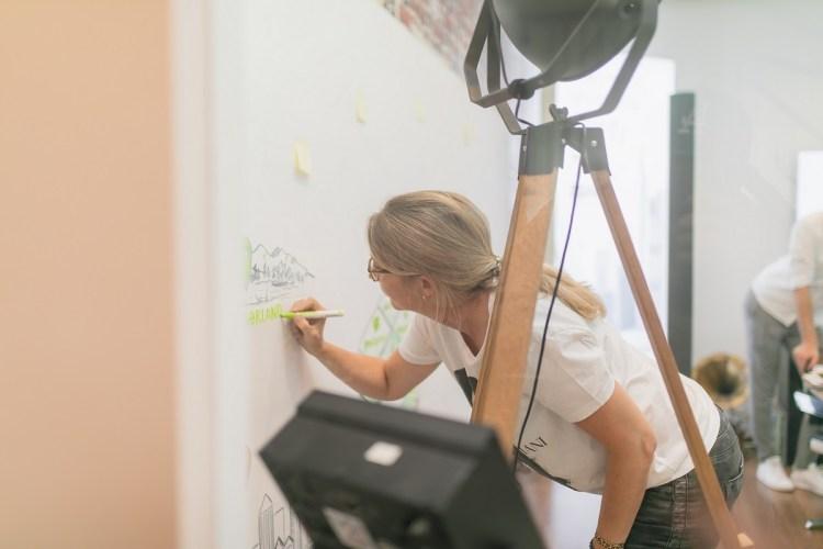Peggy zeichnet