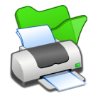 folder-green-printer-icon