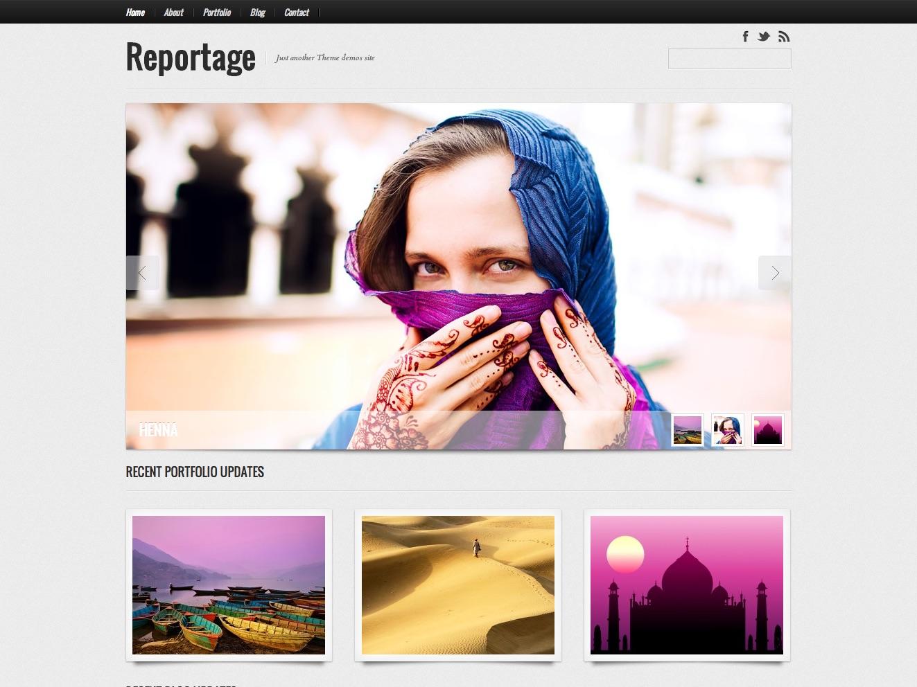 Reportage WordPress Theme | Graph Paper Press